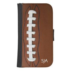 Football Design Phone Wallet