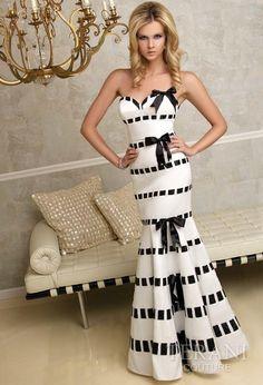 fe1d4a2c1a El vestido perfecto para cualquier ocasión Black White Striped Dress