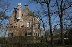 Kasteel Oudaen met brug, Breukelen.