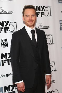 """Actor Michael Fassbender attends the """"12 Years A Slave"""" premiere during the 51st New York Film Festival at Alice Tully Hall at Lincoln Center on October 8, 2013 in New York City."""