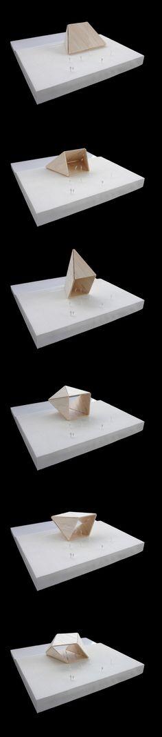 Architectural Models - NL Architects - Travo Gazebo