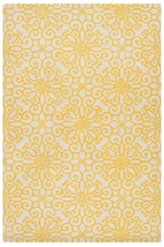 Brighten Up Your Space With A Yellow Area Rug And Other Citrusy Accents Which You