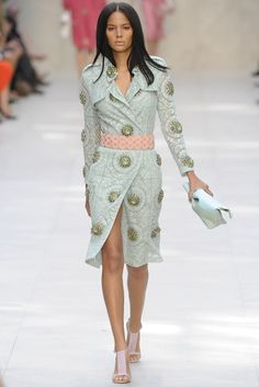 Burberry Prorsum RTW Spring 2014 - Slideshow - Runway, Fashion Week, Reviews and Slideshows - WWD.com