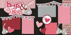 Hugs & Kisses Page Kit