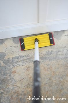 how to rip up More Source by marymheiser The post DIY How to Prep a Concrete Slab Floor for Painting appeared first on Wise Cabinetry. Painted Cement Floors, Painting Concrete, Concrete Slab, Stained Concrete, Floor Painting, Concrete Countertops, Concrete Staining, Concrete Porch, Basement Flooring