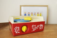 Music Box record Player Fisher Price  leshappyvintage.fr