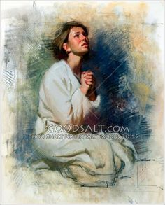 Kneeling In Prayer Lds