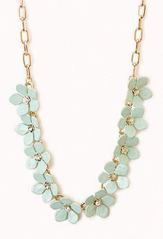 Floral Necklace | FOREVER 21 - 1047933230