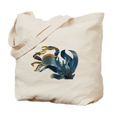 Navy Crab Tote Bag