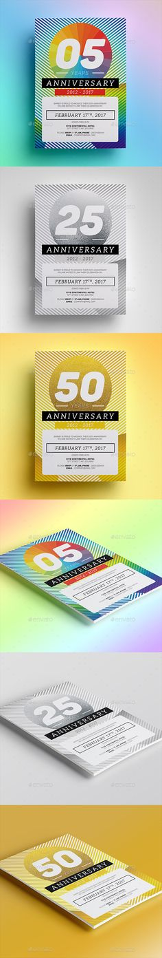 Anniversary Invitation Anniversary invitations, Template and Flyer - Invitation Flyer Template