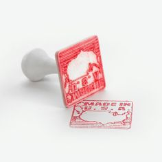 3D Made In USA Stamp, FORMBYTE Download on https://cults3d.com #3Dprinting