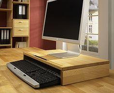 ber ideen zu monitorst nder auf pinterest schreibtische stehpulte und arbeitsbereiche. Black Bedroom Furniture Sets. Home Design Ideas
