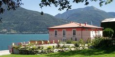 Large luxury holiday villa with pool on the shores of the lake in Pianello del Lario, Lake Como Italy Lake Como Italy, Italian Lakes, Italy Tours, Luxury Holidays, Vacation Villas, Luxury Villa, Gazebo, Swimming Pools, Outdoor Structures