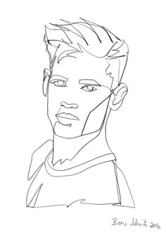 """Gaze continuous line drawing by Boris Schmitz - ""Gaze continuous line drawing by Boris Schmitz Best Picture For minimalist clothing For - Illustration Sketches, Art Sketches, Art Drawings, Contour Drawings, Drawing Faces, Art Illustrations, Minimalist Artwork, Minimalist Clothing, Grafic Art"