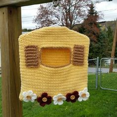 Garden Window Clothespin Bag (C)