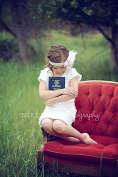 LDS Baptism Photography. Utah {My wonderful Aunts photography}
