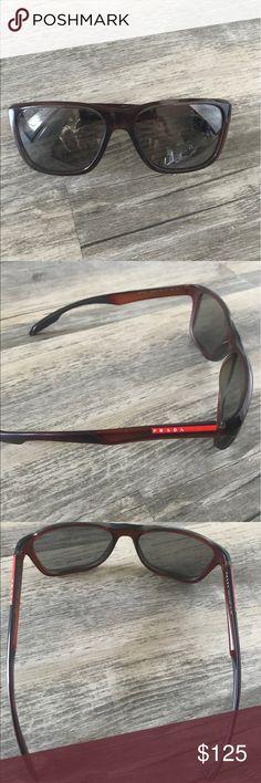 Men's Authentic Prada Sunglasses Authentic Prada Men's sunglasses. In great conditioned . Worn once Prada Accessories Sunglasses