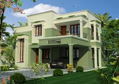 double story house sq ft sq ft square yards story home elevation sq ft sq square yards double story house sq ft sq ft square yards story home elevation sq ft sq square yards House Floor Design, 2 Storey House Design, House Extension Design, Home Design Floor Plans, Bungalow House Design, Modern Small House Design, Cool House Designs, House Paint Exterior, Exterior Design