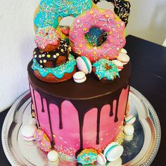 Tokidoki Party Ideas 2019 Tokidoki Party Ideas The post Tokidoki Party Ideas 2019 appeared first on Birthday ideas. 13 Birthday Cake, Donut Birthday Parties, Birthday Cakes For Teens, Birthday Ideas, 10th Birthday, Donut Party, Bolo Tipo Pullman, Fete Audrey, Sleepover Cake