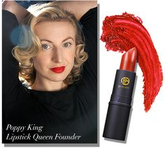 Poppy King - founder, Lipstick Queen #poppyking #lipstickqueen #internationalwomensday