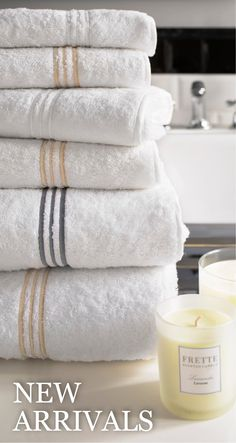 Frette towels. We had these in our hotel in Singapore, and they were amazing!