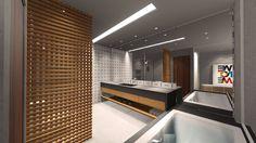 Banheiro de Hóspedes – arquiteto André Luís Gonçalves