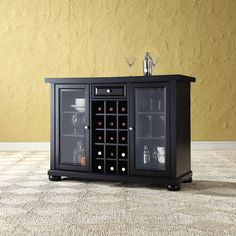 Perfect Monarch Specialties Inc. I 2543 Ladder Style Bar Cabinet | Dining Room |  Pinterest | Bar, Bar Furniture And Construction Materials