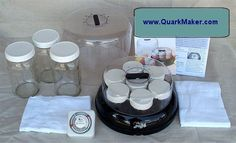 Yogurt-Quark Maker Deluxe saves energy from using the oven.  Benefits and nutritional info for quark given at this site.