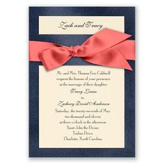 WOW! Coral and navy... Love these colors together <3