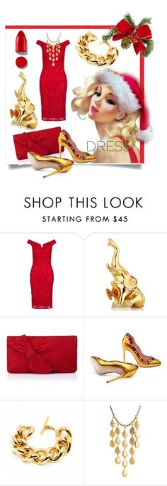 """Perfect Party Dress"" by kari-c ❤ liked on Polyvore featuring Dorothy Perkins, Estée Lauder, L.K.Bennett, Gucci, Ben-Amun, John Hardy, Rodin and partydress"