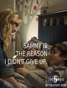 Sammy means the world to Cassie Sullivan. Meet them both in The 5th Wave, in theaters now | Click through to buy your tickets online! #5thWaveMovie