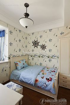 Eastern Mediterranean style kids room decorating book 2016