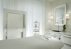 So beautiful. Ciel Spa at the SLS Hotel in Beverly Hills #spa