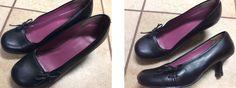 No Boundaries size 9 1 1/2-2in heel ladies dress shes. $9