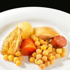 Cocido Madrileño (Formato familiar): Uno de los platos más representativos de la cocina madrileña muy típico para los meses más fríos. #cocido #gallego #comida