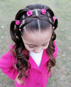 hairstyles ideas – New Ideas Young Girls Hairstyles, Mixed Kids Hairstyles, Easy Toddler Hairstyles, Cute Little Girl Hairstyles, Baby Girl Hairstyles, Work Hairstyles, Princess Hairstyles, Braided Hairstyles, Jasmine Hair