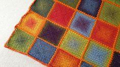 Udsnit af Kaunitæppe Super Powers, Circles, Crafty, Blanket, Blankets, Cover, Comforters