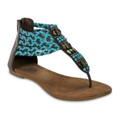 d0c9b2fd5cdf MUK LUKS® Sierra Braided Flat Sandals found at  JCPenney