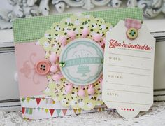 DIY...Shabby Doily Card