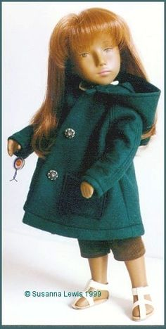 the only doll I ever had, I preferred Matchbox. But Sacha was a revolution in doll's land.