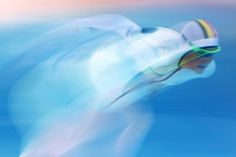 Sochi 10 motion blur shots at the Winter Olympics – in pictures Belgium's Jelena Peeters competes in the women's. Winter Olympic Games, Winter Olympics, Photos Du, Cool Photos, Bobsleigh, Blur Effect, Speed Skates, Motion Photography, Blur Photo