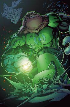 Kilowog es de DC Comics, miembro de los Green Lantern Corps