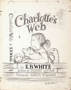 Cover art for Charlotte's Web, Garth Williams