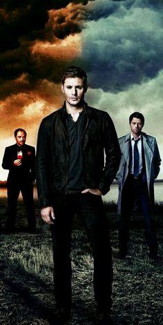 Lucifer,Dean, and Castiel