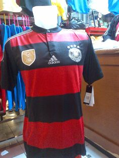 Jual Kaos Jersey  Bola:Germany FIFA World Cup 2014 Winning 4 Stars - Away...Rp.150.000,-