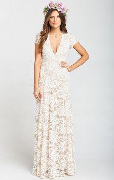 22c59d499045 Eleanor Maxi Dress ~ Lovers Lace Show Me The Ring. Floral Bridesmaid DressesLace  ...