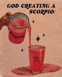Scorpio Art, Astrology Scorpio, Scorpio Zodiac Facts, Astrology Numerology, Scorpio Woman, Zodiac Memes, Zodiac Art, Scorpio Funny, Scorpio Zodiac Tattoos