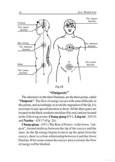 "Key acupressure points: Qi energy gates and storage and processing stations (outposts), including the head, exercises similar to the Emotional Freedom Technique-EFT or ""psychological acupressure"" popular with Dr Mercola and other U.S.naturopaths. http://eft.mercola.com/Wingchun Qigong - The art of the Qi management - Igor Dudukchan - Google Books PDF fragment"