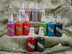 Homemade Glimmer Mists