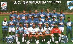 U.C Sampdoria 1990/91